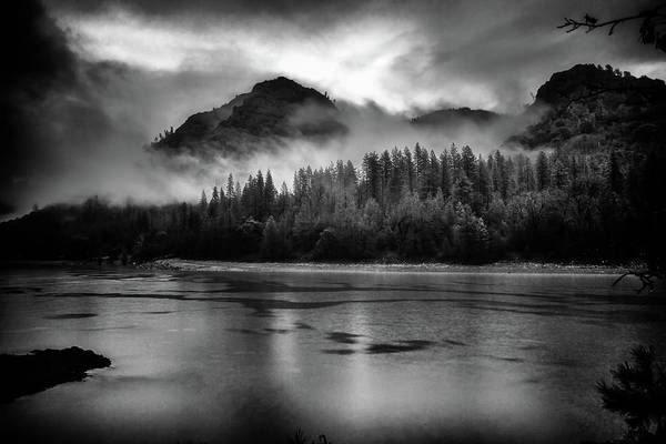 Wall Art - Photograph - Shasta Lake With A Touch Of Drama by Marnie Patchett