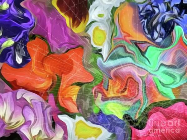 Digital Art - Shattered Rainbow by Kathie Chicoine