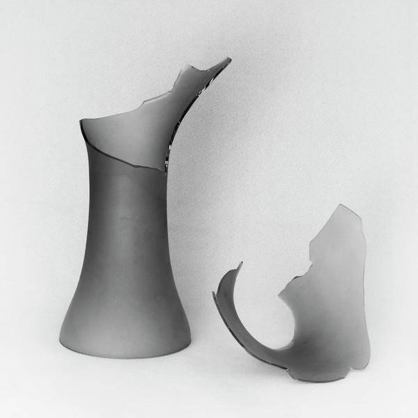 Wall Art - Photograph - Shattered Vase 2 by Andrew Wohl