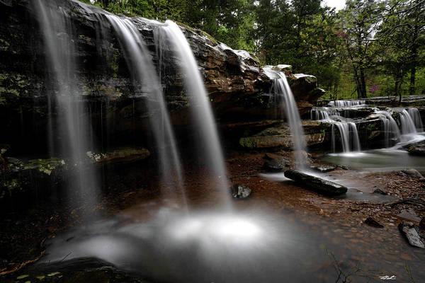 Photograph - Shawnee Waterfall by Tailor Hartman