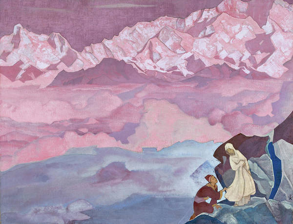 She Painting - She Who Leads - Digital Remastered Edition by Nicholas Roerich