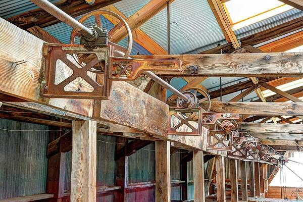 Photograph - Shearing Pulleys by Jerry Sodorff