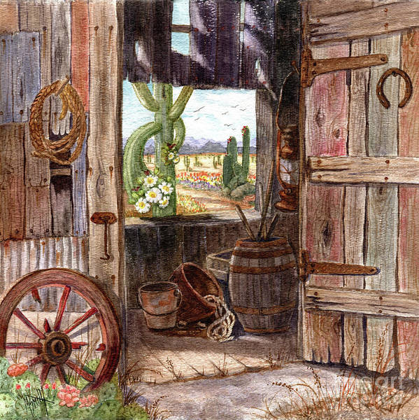 Painting - Shed With A View by Marilyn Smith