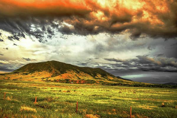 Photograph - Sheep Mountain Drama by Chance Kafka