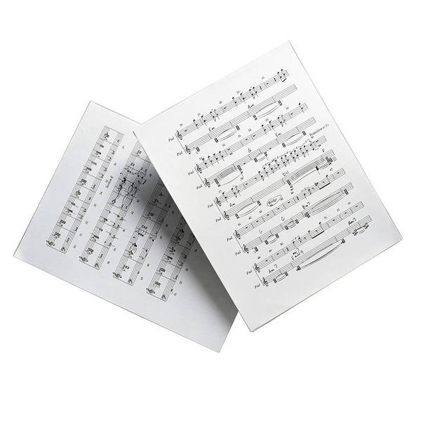 Sheet Music Photograph - Sheet Music by C Squared Studios