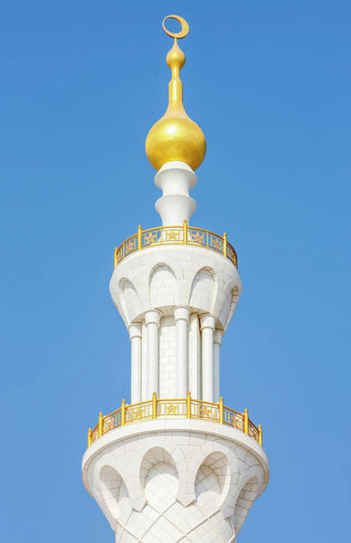 Wall Art - Photograph - Sheikh Zayed Grand Mosque. The Mosque by Uig