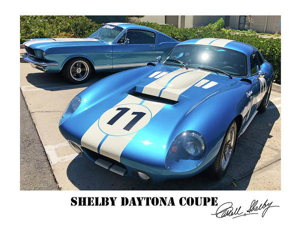 Wall Art - Photograph - Shelby Daytona Coupe by Shoal Hollingsworth