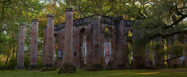 Wall Art - Photograph - Sheldon Church Ruins At Dawn by Jon Glaser