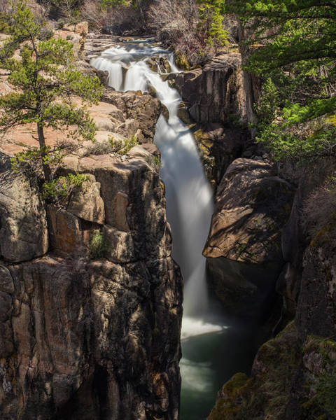 Photograph - Shell Creek Falls by Roy Nelson