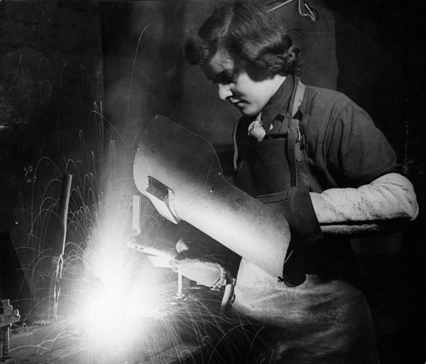 Protective Clothing Photograph - Shell Factory by M Mcneill