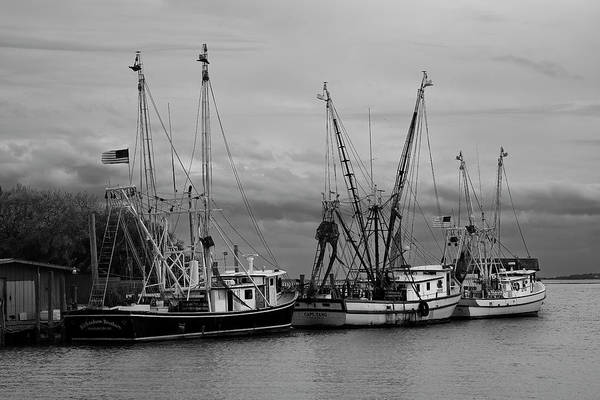 Wall Art - Photograph - Shem Creek Boats II by Jon Glaser