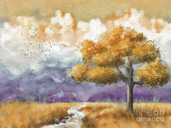 Wall Art - Digital Art - Shenandoah Autumn by Lois Bryan
