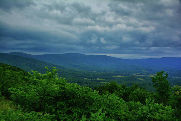 Photograph - Shenandoah Central District As A Storm Arrives by Raymond Salani III