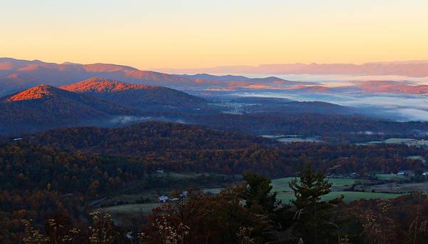 Photograph - Shenandoah Mountains by Candice Trimble