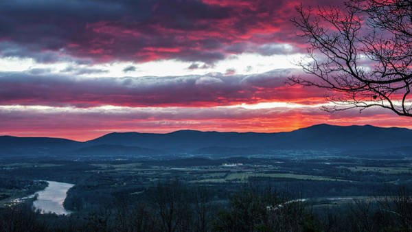 Photograph - Shenandoah Pillar Of Sun by Lara Ellis