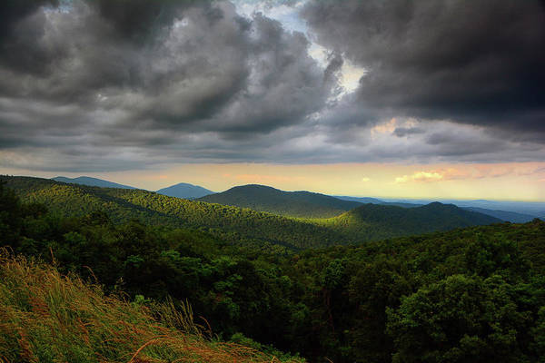 Photograph - Shenandoah's North District Overlook by Raymond Salani III