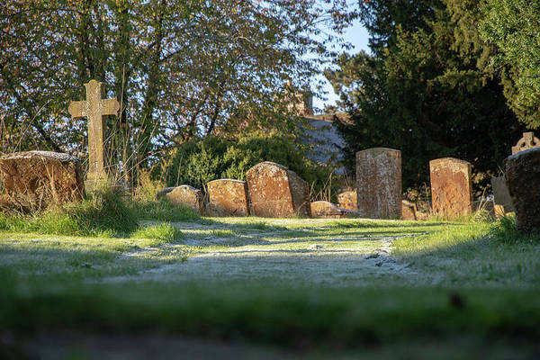Photograph - Shenington Churchyard by Mark Hunter