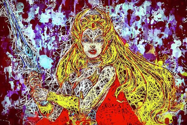 Mixed Media - She - Ra by Al Matra