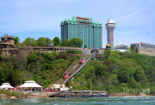 Photograph - Sheraton Hotel And Casino - Niagara Falls by Doc Braham