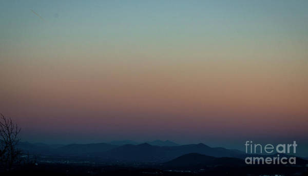 Photograph - Sherbert Sunset Over The Blue Ridge Mountains by Amy Lyon Smith