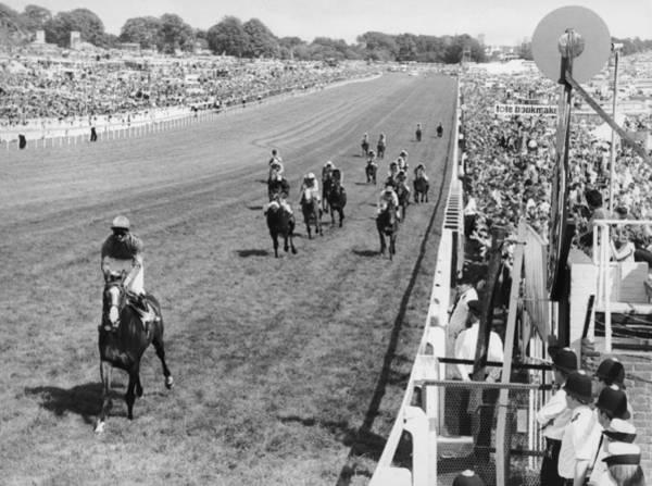 Epsom Derby Photograph - Shergar Wins Derby by Central Press