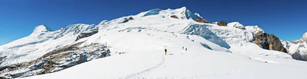 Indian Peaks Photograph - Sherpas Carrying Expedition Kit Snow by Fotovoyager
