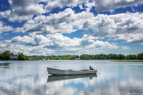 Wall Art - Photograph - Sherwood Millpond Skiff by Stephanie McDowell