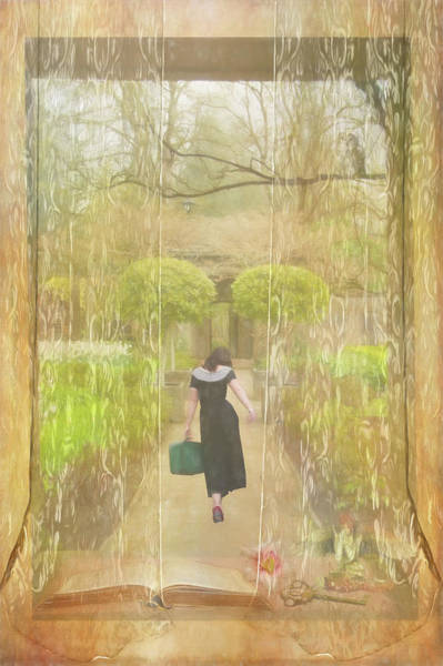 Digital Art - She's Leaving Home by Marilyn Wilson
