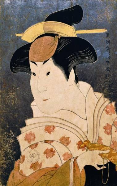 Kabuki Painting - Shigenoi - Top Quality Image Edition by Toshusai Sharaku