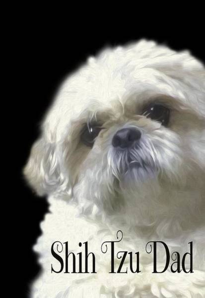 Photograph - Shih Tzu For Dad by Ericamaxine Price