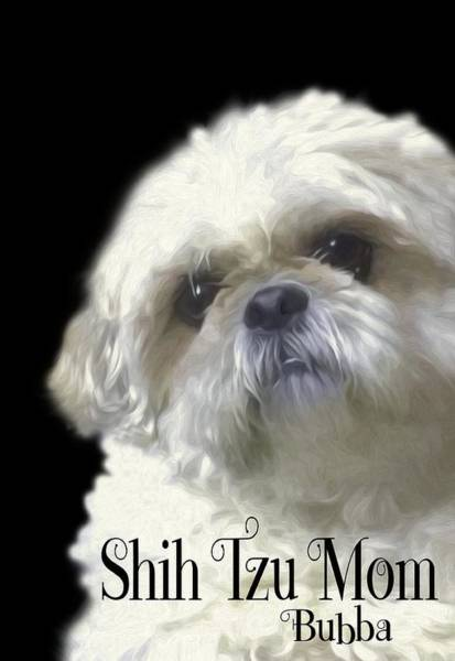 Photograph - Shih Tzu For Mom-bubba by Ericamaxine Price