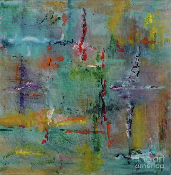 Painting - Shimmering by Karen Fleschler