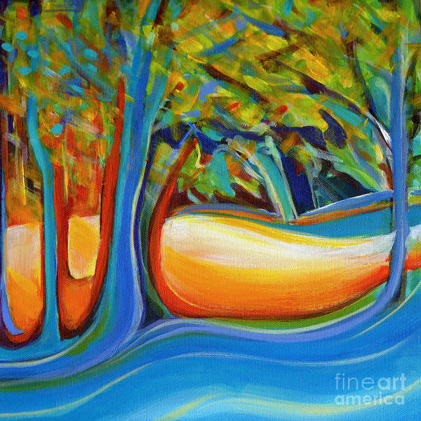 Painting - Shimmering Whispers by Tanya Filichkin