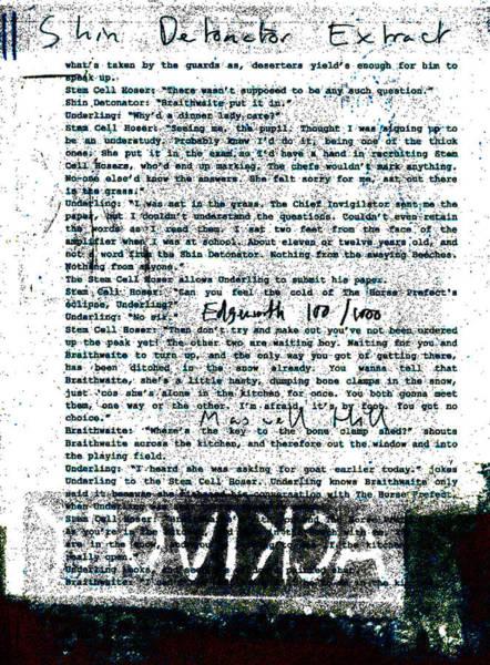 Relief - Shin Detonator Book Dada Page 100r1 by Artist Dot