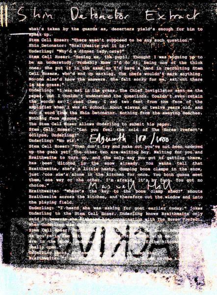 Relief - Shin Detonator Book Dada Page 100r2 by Artist Dot