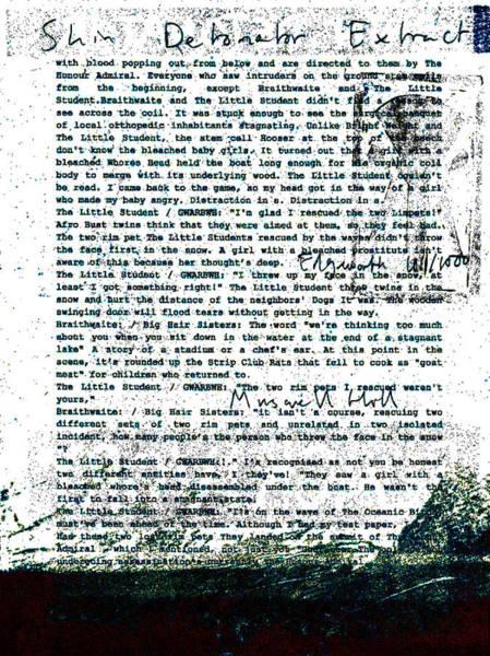 Relief - Shin Detonator Book Dada Page 101r1 by Artist Dot