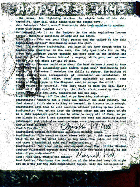 Relief - Shin Detonator Book Dada Page 116r1 by Artist Dot