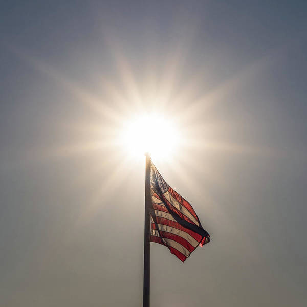Photograph - Shine Bright American Flag by Terry DeLuco