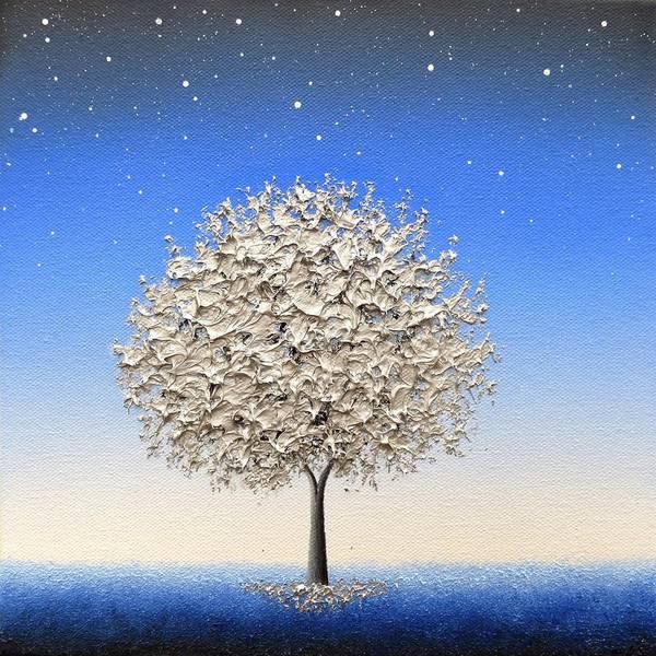 Wall Art - Painting - Shines The Night by Rachel Bingaman