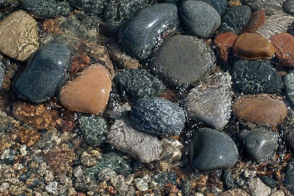 Photograph - Shining Beach Stones by Kathi Mirto