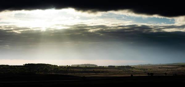 Photograph - Shining Through At Baslow Edge by Scott Lyons