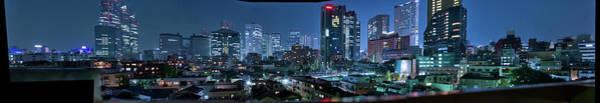 Wall Art - Photograph - Shinjuku Panorama From Yoyogi by (c) José Manuel Segura (@ungatonipon)