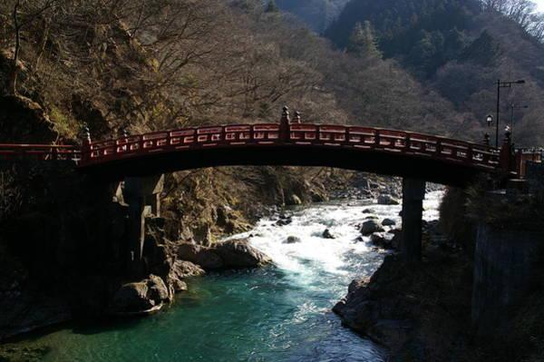 Nikko Photograph - Shinkyo Bridge At Nikko by By Johan Krijgsman, The Netherlands