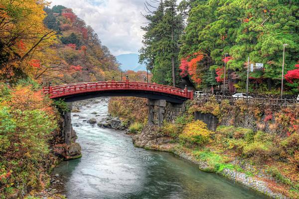 Nikko Photograph - Shinkyo Bridge by Daniel Chui