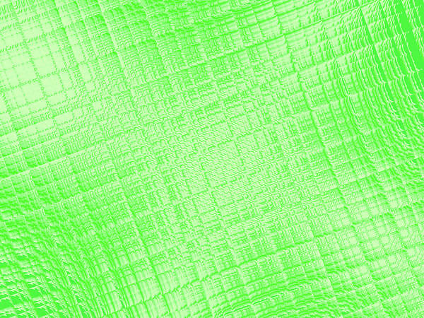 Wall Art - Digital Art - Shiny Green by Rich Leighton