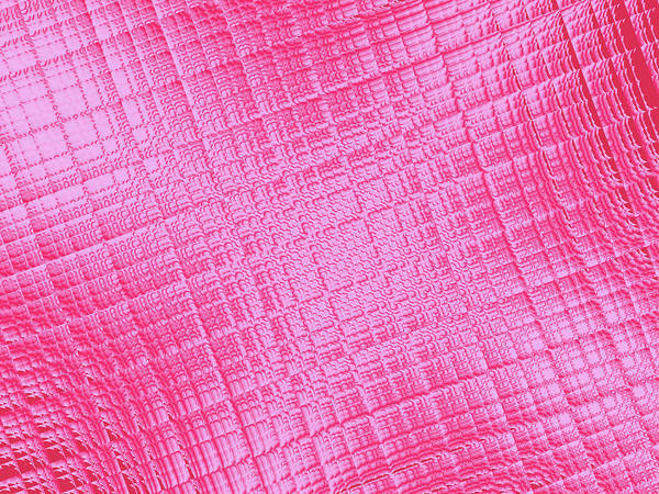 Wall Art - Digital Art - Shiny Pink by Rich Leighton