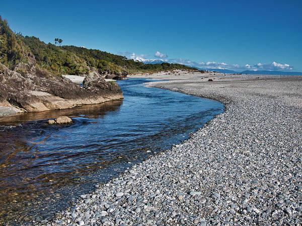 Photograph - Ship Creek - New Zealand by Steven Ralser