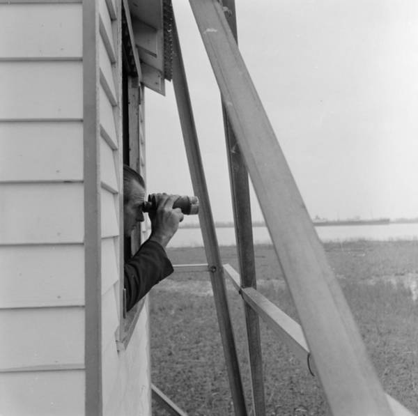 Binoculars Photograph - Ship Watch by Efield