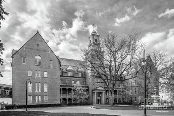 Photograph - Shippensburg University Of Pennsylvania Old Main by University Icons