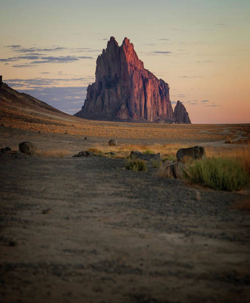 Land Of Enchantment Photograph - Shiprock IIi by Ricky Barnard
